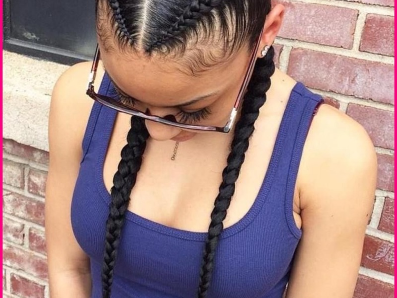 Cool & Jazzy Braided Hairstyles for Black Women