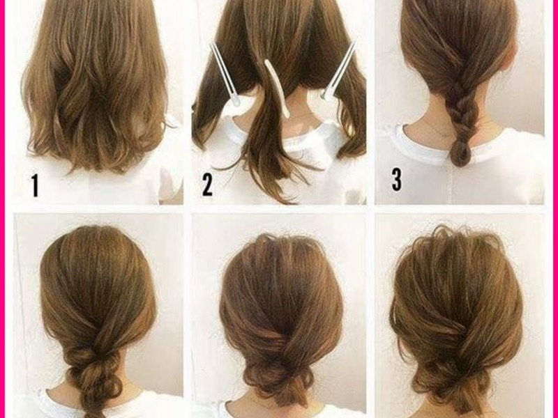Easy Cool Hairstyles for Medium Length Hair