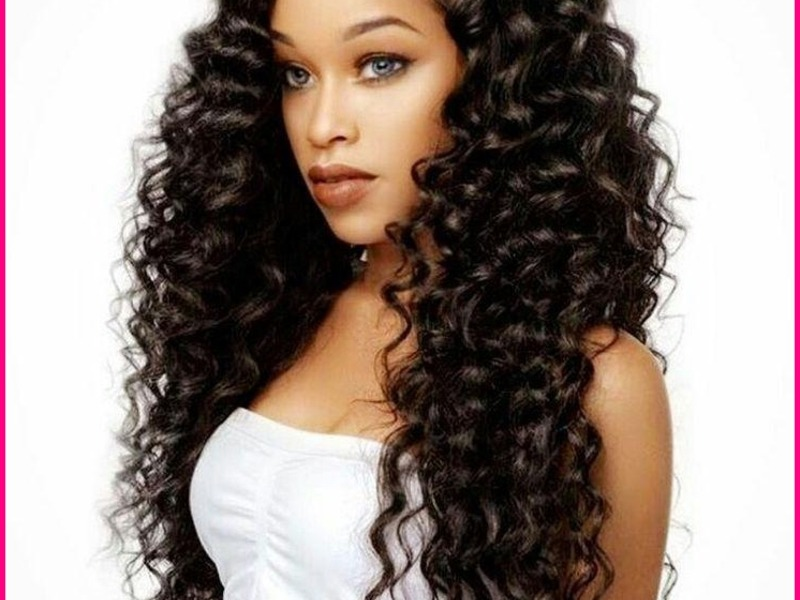 Long Black Hairstyles 2018 İdeas