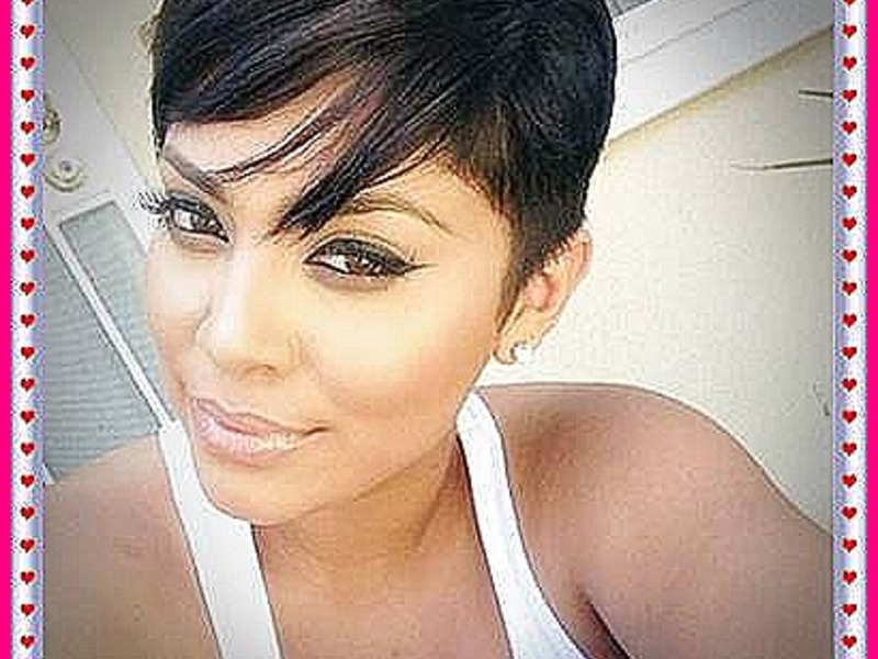Short Black Hairstyles 2018-2019
