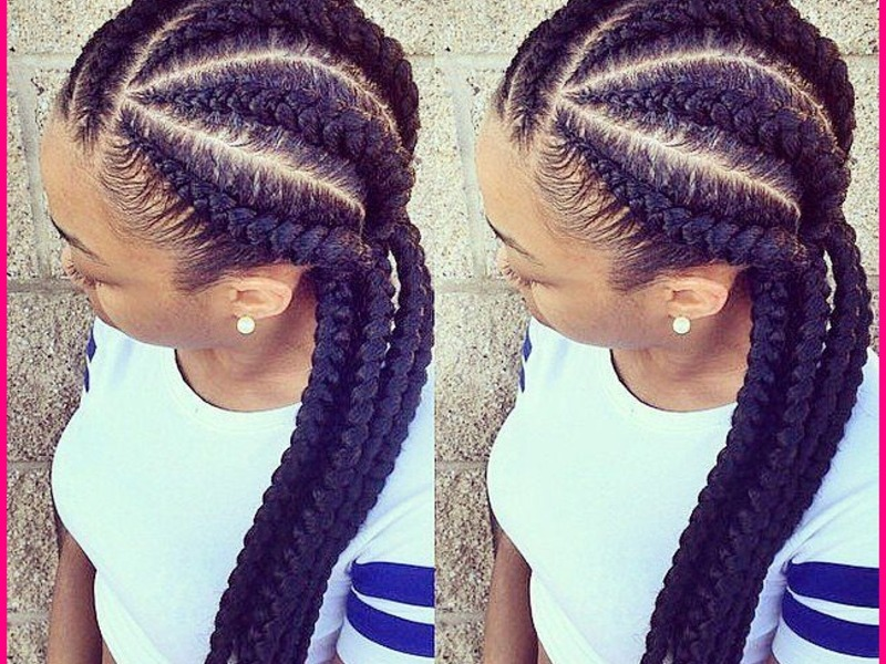 Trendy Yet Stylish Braided Hairstyles For Sexy African-American Women