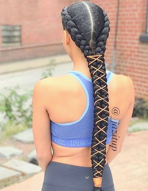 Amazing Braided Hairstyles for Black Women 2018-2019