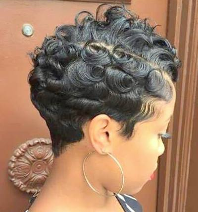 Black Women Mohawk Hairstyles