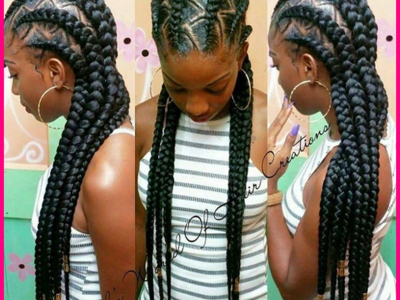 Trending Cornrow Hairstyles for African American People